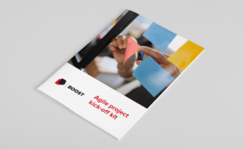 Click the cover of the Agile project kick-off meeting toolkit to request your copy