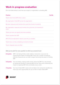 Click the thumbnail of the WIP evaluation checklist to download the checklist PDF.