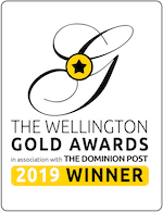 Gold Awards 2019 winners badge