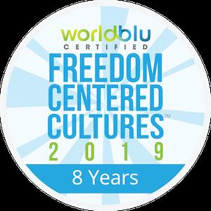 WorldBlu badge