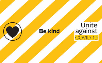 Combination of the Unite against COVID-19 logo and the Be kind banner from https://covid19.govt.nz/ — CC-by-4 https://creativecommons.org/licenses/by/4.0/