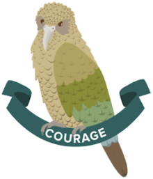 Kea icon for Boost's core value of Courage.