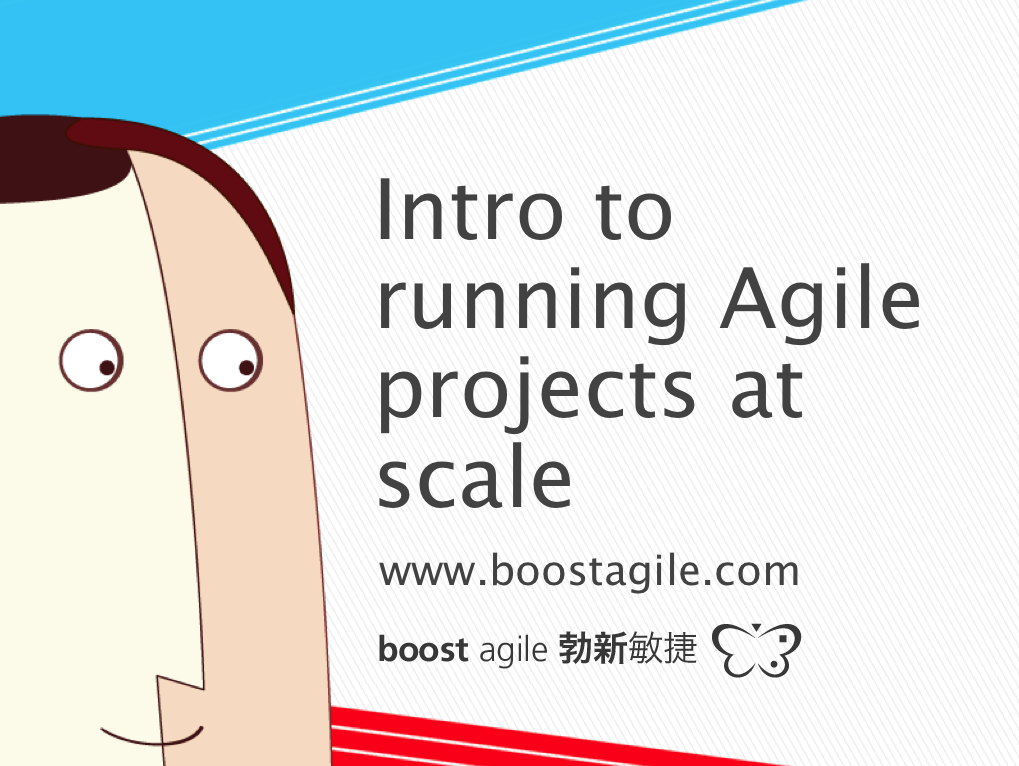 Intro to running Agile projects at scale
