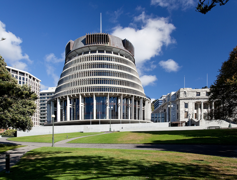 The Beehive in Wellington, New Zealand. Boost has joined the government Web Services Panel. Image: The Beehive by russelstreet - licensed under CC BY-SA 2.0.