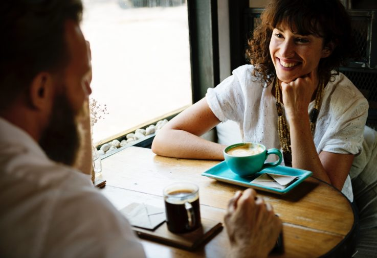 One-on-ones or coffee catch ups help build trust. Photo: rawpixel-com-423663 Photo by rawpixel.com on Unsplash