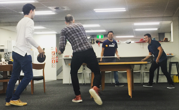 Ping pong at Boost.