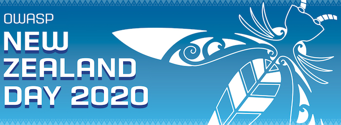 OWASP NZ Day 2020 website banner. OWASP Foundation, Inc(CC BY-SA 4.0)