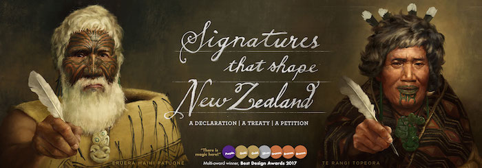 The banner for He Tohu online. This project was a good example of the kind of the partnerships that power the Digital Service Design Standard.