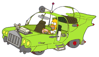 The Homer, a car designed by Homer from The Simpsons. https://simpsons.fandom.com/wiki/The_Homer# CC-BY-SA