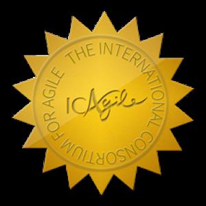 ICAgile certification sseal
